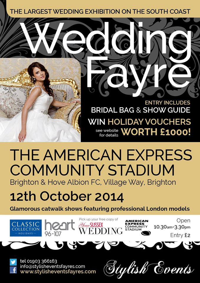amex wedding fair 2014