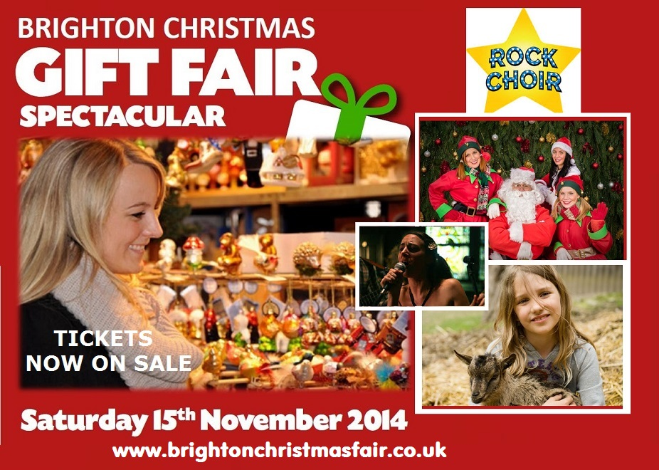 Brighton Racecourse - Brighton Christmas Gift  Fair 2014
